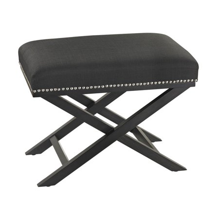 Black Cross Leg Bench - image 1 de 1