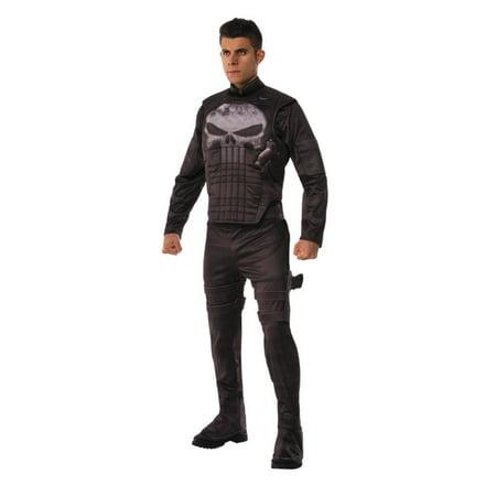 Punisher Halloween Costume (Deluxe Punisher Adult Halloween)