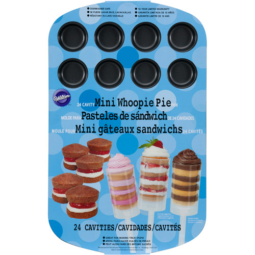 Wilton 24-Cavity Mini Whoopie Pie Pan 2105-0478
