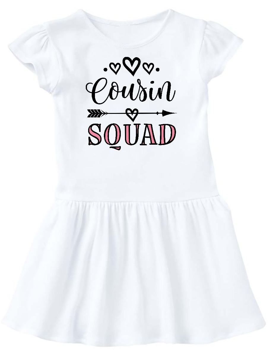 Cousin Squad Crew Toddler Dress