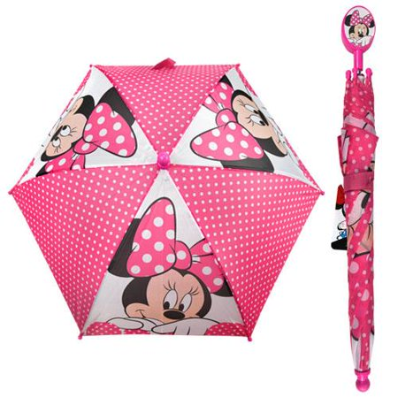 Minnie Mouse Kids Umbrella with Clamshell Handle](Kids Umbrellas)