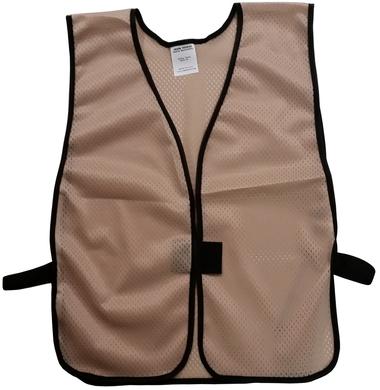 Hot Pink Safety Vests - Soft Mesh Plain Vests
