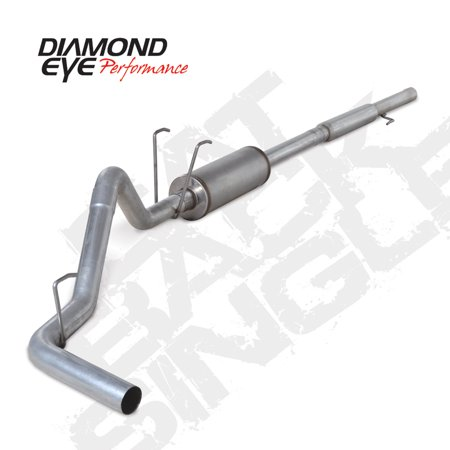 Diamond Eye KIT 3in CB SGL GAS AL DODGE 5.7L HEMI 2006-2008 1500 1500 Hemi Cat Back Exhaust