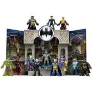 Imaginext DC Super Friends Gotham City Pop-Up Playset & Figures