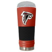 Atlanta Falcons 24oz. Powder Coated Draft Travel Mug - Red