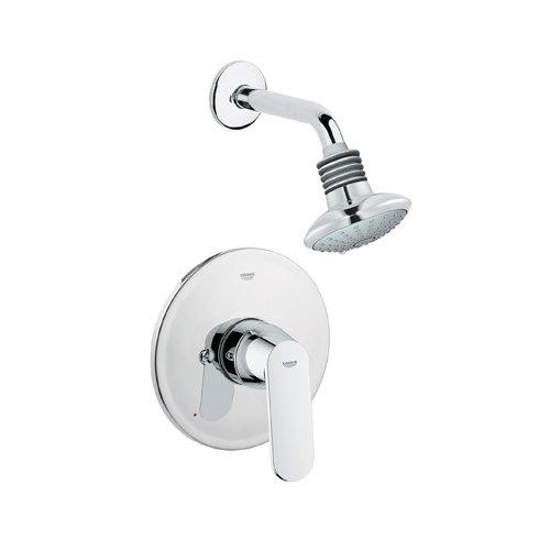 Grohe 35020000 Eurosmart Cosmopolitan Pressure Balance Valve Shower Combination Trim, Chrome