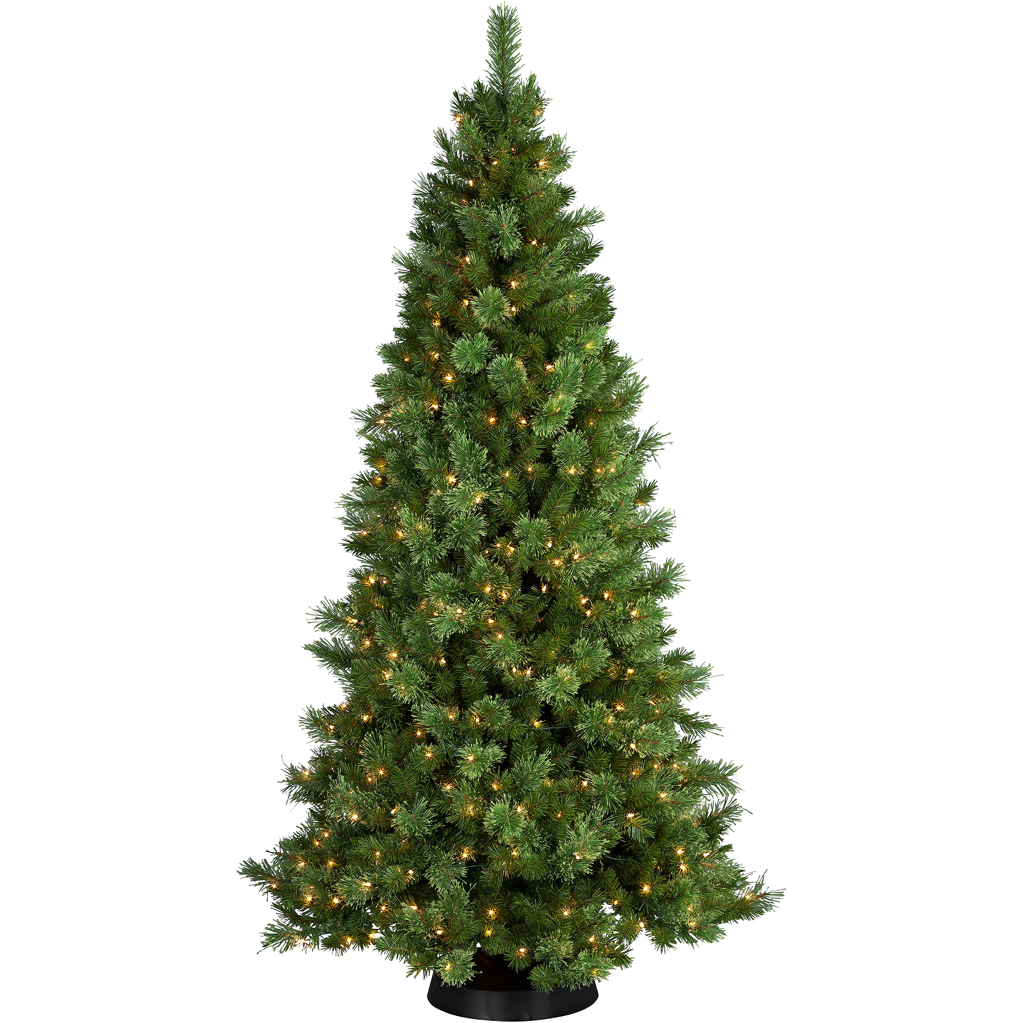 Pre-Lit 7.5' Sheridan Cashmere Pine Artificial Christmas Tree, 400 ...