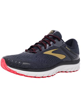 86e0abae590 Product Image Brooks Men s Adrenaline Gts 18 Black   Gold Red Ankle-High  Mesh Running Shoe -
