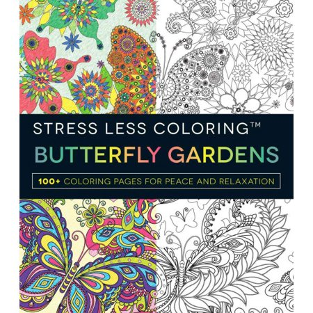 Butterfly Gardens (Coloring Page Butterfly)