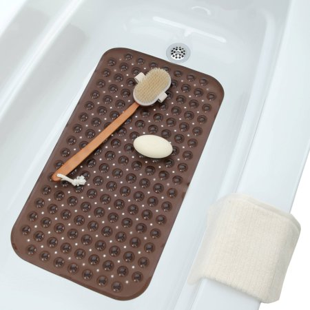 Crystal Creek Mini Massage Bath Mat (15 in. x 28 in.)