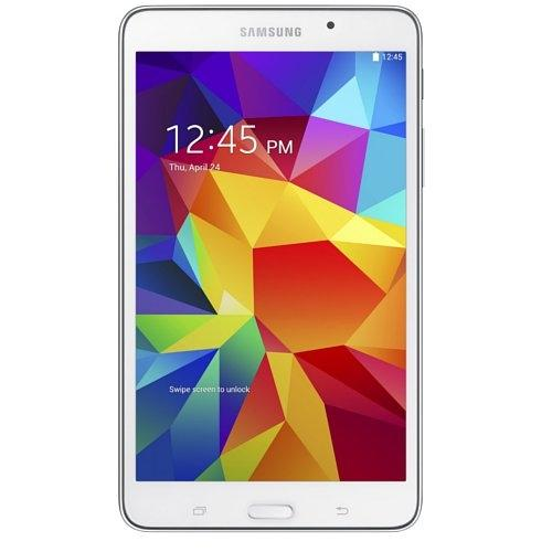 "Samsung Galaxy Tab 4 8 GB Tablet - 7"" - 1.20 GHz - 1.50 GB RAM - White"