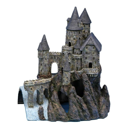 Penn Plax Age-of-Magic Magical Castle, Super Size, Right Section
