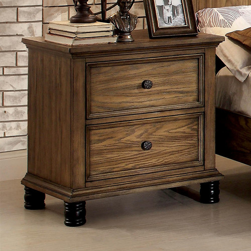 Hokku Designs Nory 2 Drawer Nightstand