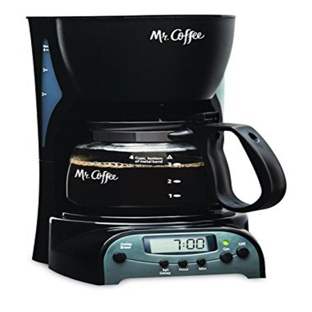 4 Cup Programmable Coffee Maker Review : Mr. Coffee 4-Cup Programmable Coffeemaker, DRX5 - Walmart.com