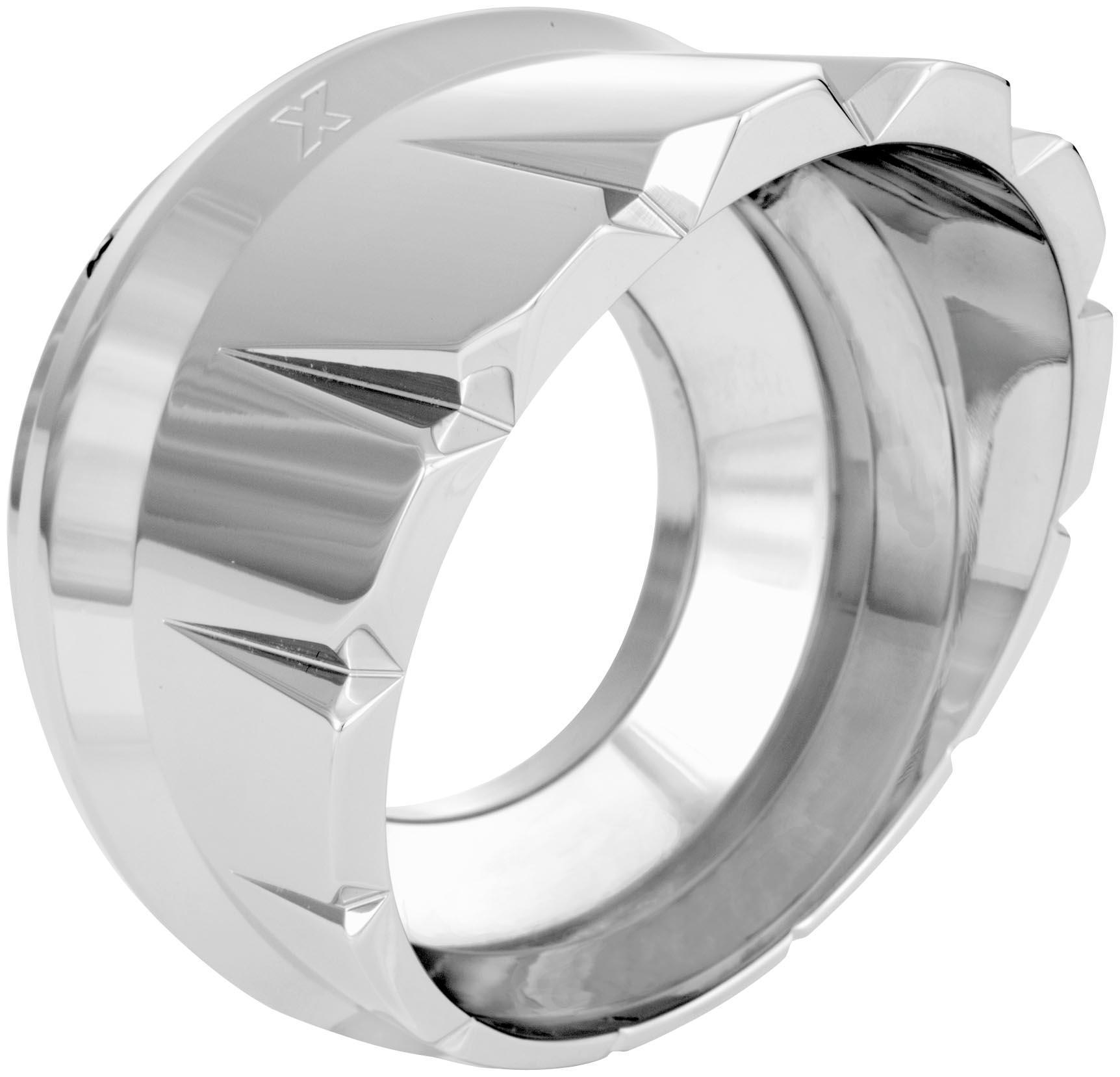 Xtreme Machine 0204-2020XVT-CH V-Cut Exhaust Tip