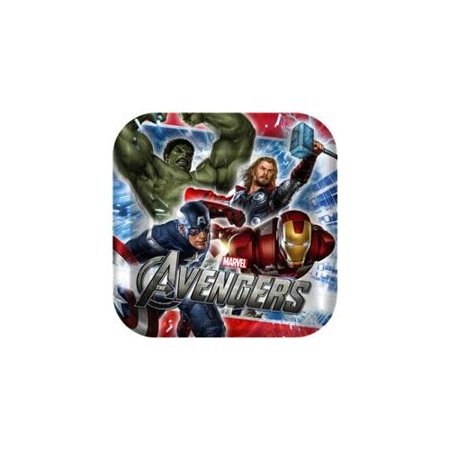 Avengers Small Paper Plates (8ct)