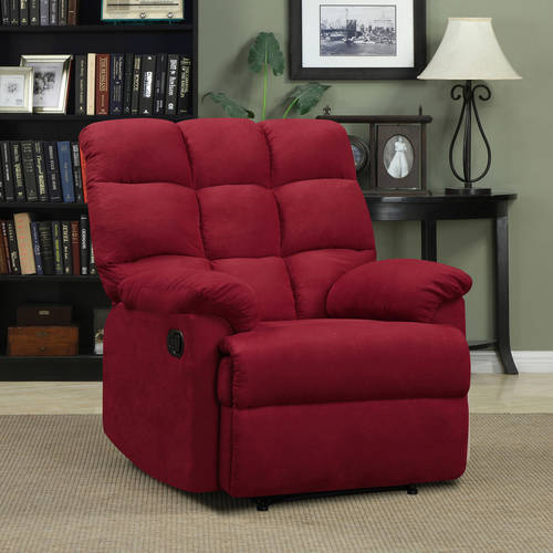 This button opens a dialog that displays additional images for this product with the option to zoom in or out. & Mainstays Baja Wall Hugger Microfiber Biscuit Back Recliner Chair ... islam-shia.org