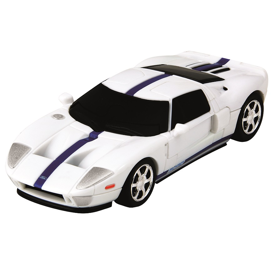 Ford Gt White D Jigsaw Puzzle Car Kit