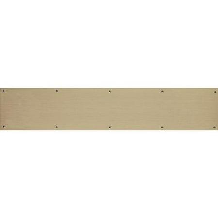Brass Accents A09-P0634 Kick Plate Kick Plate Door Plate 6 x 34 ;Antique - Brass Accents A09-P0634 Kick Plate Kick Plate Door Plate 6 X 34