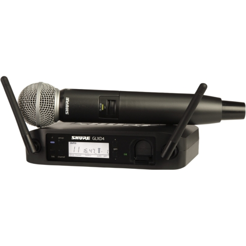Shure GLX-D Digital Wireless System for Beta58 Handheld Microphone by Shure