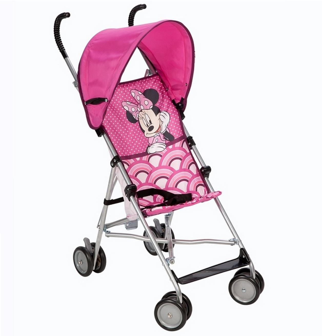Disney Bye Bye Minnie Umbrella Stroller with Canopy (No Window) - Pack of 4