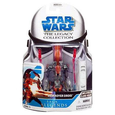 Star Wars Legacy Collection 2008 Saga Legends Destroyer Droid Action (Venator Star Destroyer)