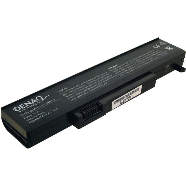 DENAQ 6-Cell 5200mAh Li-Ion Laptop Battery for GATEWAY M-...