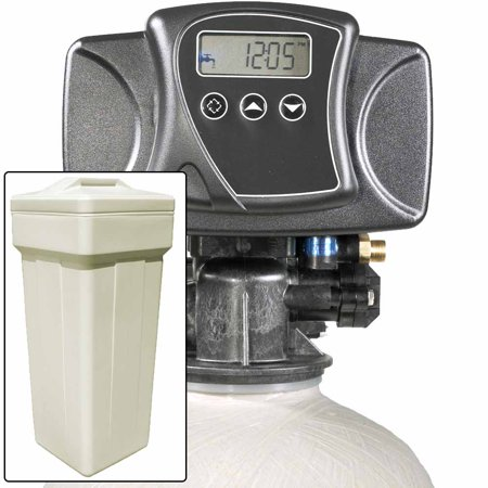 Water Pro Plus 15 with Fleck 5600SXT Water Softener and Multi Media Filter for Iron, Improved Sulfur, Tastes, & Odors (Iron Filtration System)