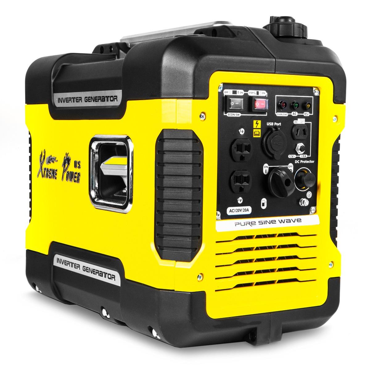 XtremepowerUS 2000 Watt Digital Portable Inverter Generator EPA CARB Approved