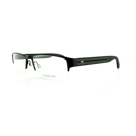TOMMY HILFIGER Eyeglasses 1236 094X Matte Black 55MM ()
