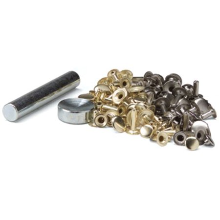Easy-To-Do Series Rapid Rivets, Sixty assorted rivets and two piece setting tool By Tandy Leather Factory