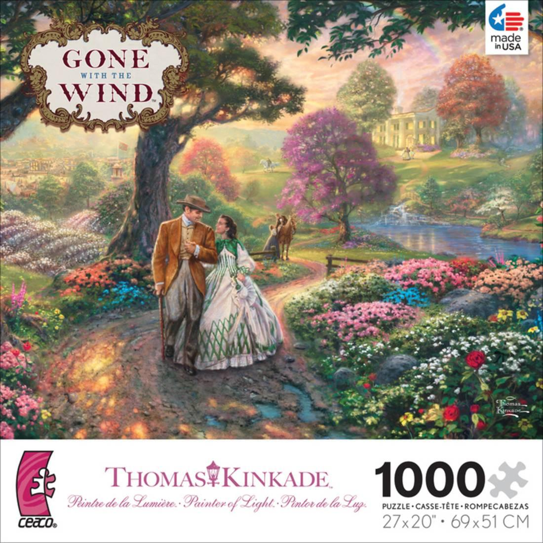 Thomas Kinkade WB Movie Classics Gone with the Wind 10