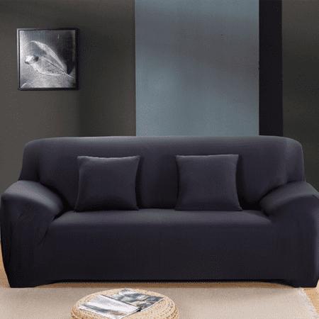 Stretch Polyester Sofa Slipcover Elastic Non Slip Pure