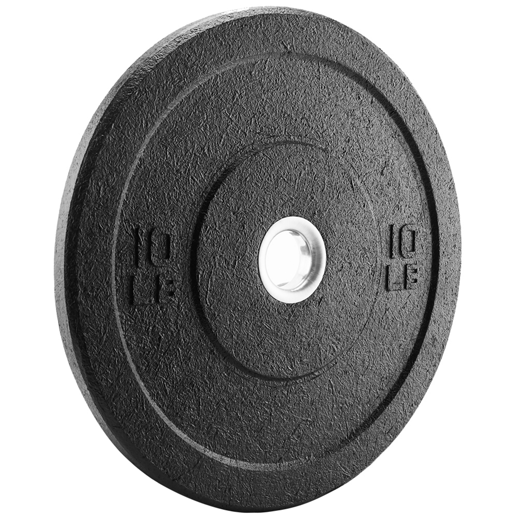 XPRT Fitness Olympic Crumb Rubber Bumper Plate 10 lb  PAIR - Weight Lifting  Plate for Cross Training, Olympic Lifting, Power lifting, Strength &