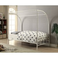 Bennette Black Metal Soccer Goal Twin Bed by Coaster