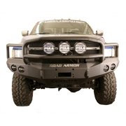 Road Armor 47015B RDA47015B 97-02 DODGE RAM HD FRONT STEALTH WINCH BUMPER, LONESTAR GUARD, SATIN BLACK