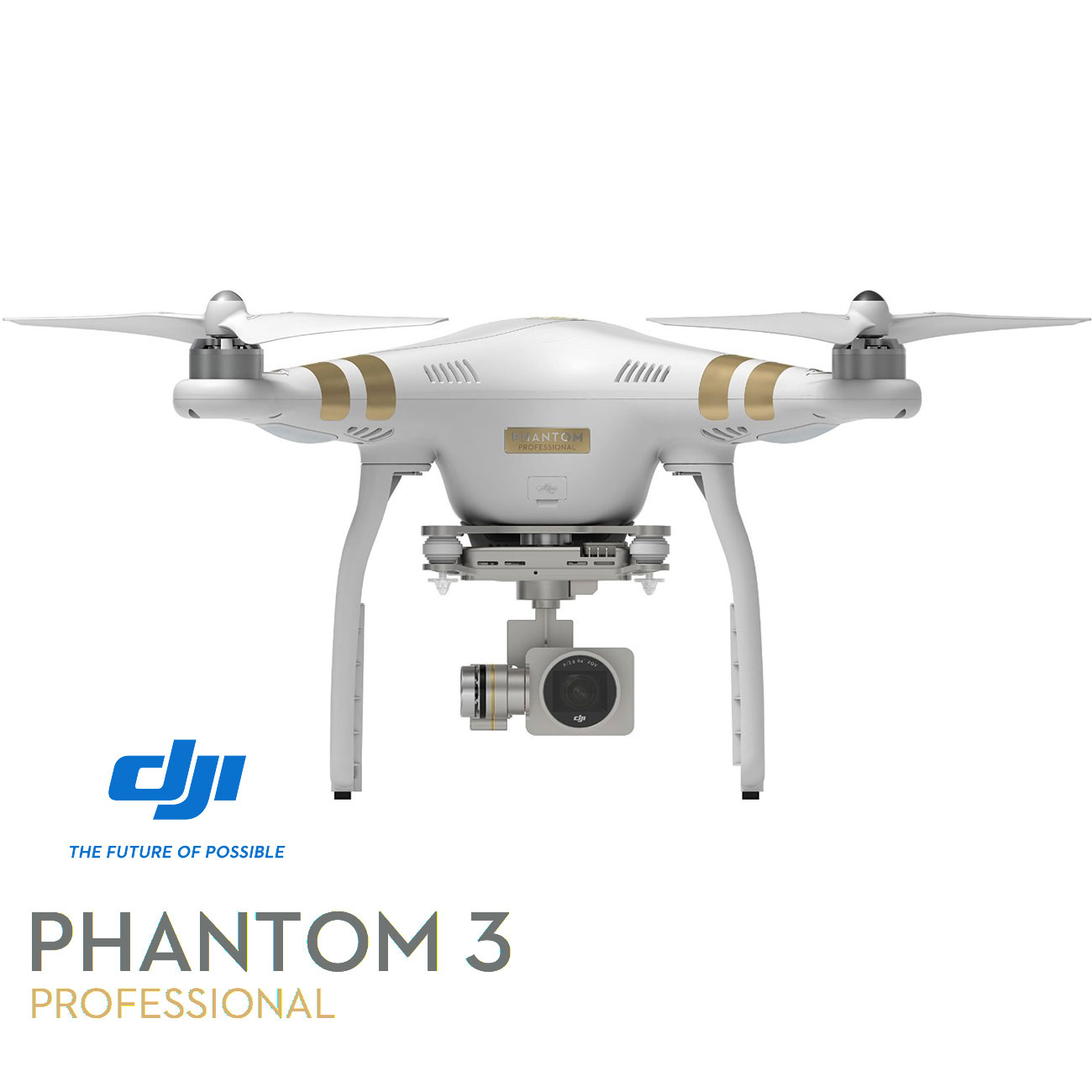 DJI Phantom 3 Professional Quadcopter 4K UHD Video Camera Drone (Certified Refurbished) by DJI