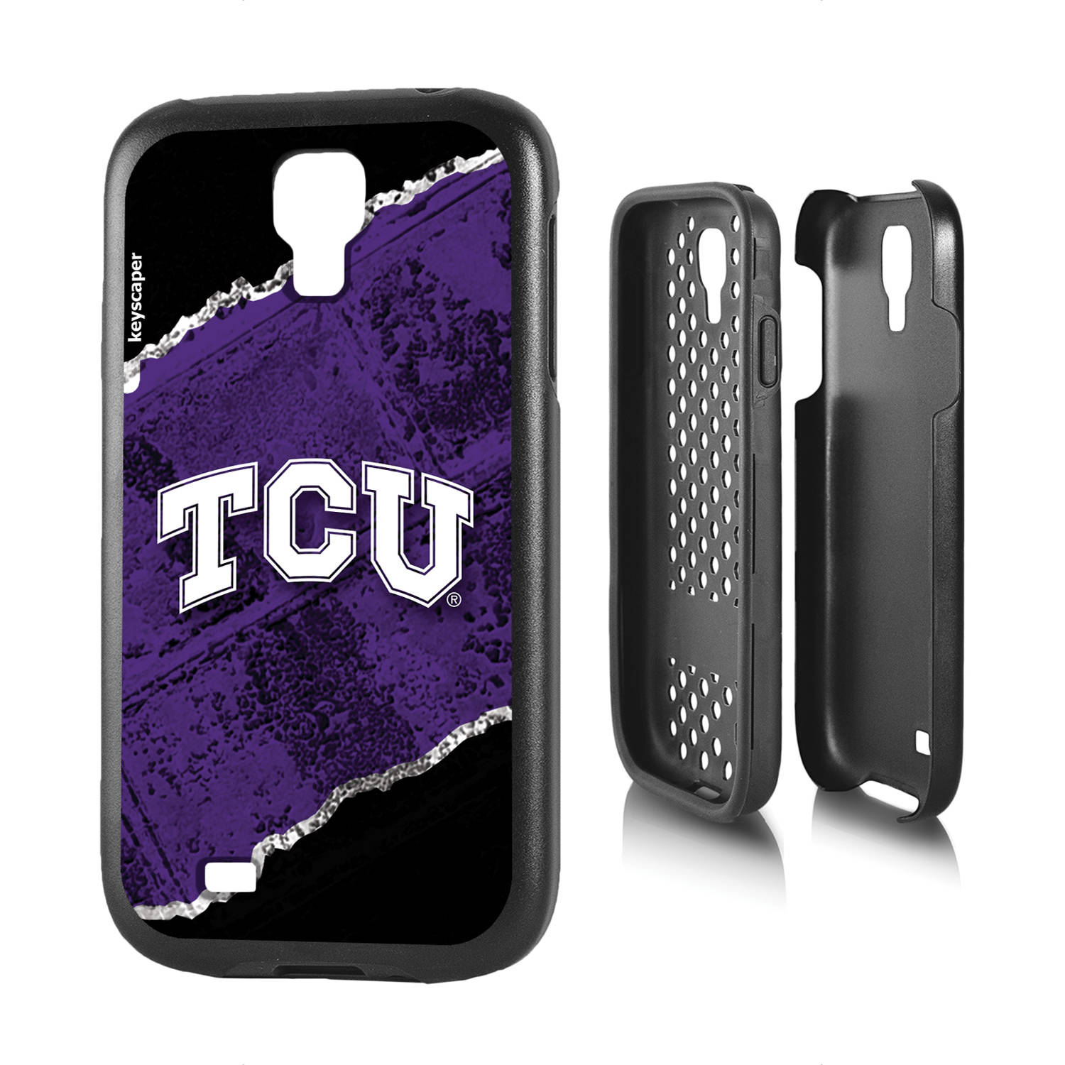 Texas Christian Horned Frogs Galaxy S4 Rugged Case