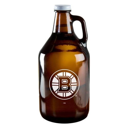 Boelter Brand NHL 64-Ounce Amber Growler Glass, Philadelphia Flyers