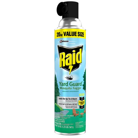 Raid Yard Guard Mosquito Fogger, 20 Ounces