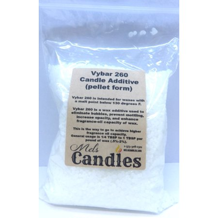Vybar 260 - 5 ounces of Wax Additive comes in a clear Bag - candle making