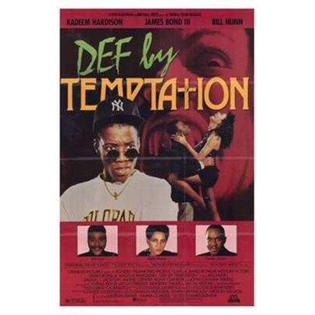 Posterazzi MOV203652 Def by Temptation Movie Poster - 11 x 17 in. - image 1 de 1