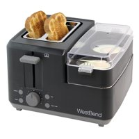 West Bend 2-Slice Breakfast Station Egg & Muffin Toaster, 78500