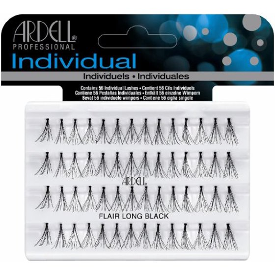 Ardell Duralash Flare False Eyelashes Long Black Pack Of 4