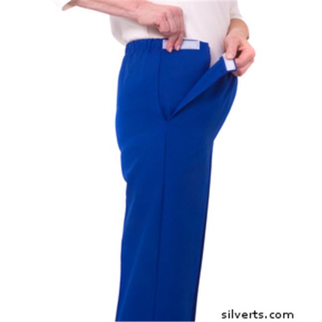 Silverts 230513007 Arthritis Adaptive Pants With Cloth Ti...