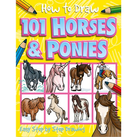 How to Draw 101 Horses & Ponies - Halloween Pics To Draw