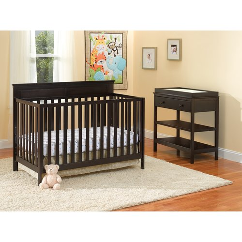 Summer Infant Sweet Dream Nursery and Combo Changer Set, Espresso