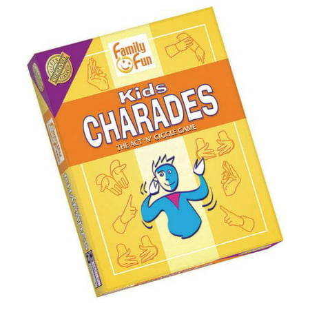Charades for Kids - An Imaginative Classic Party Game for Young Kids by Outset Media](Halloween Words For Charades)