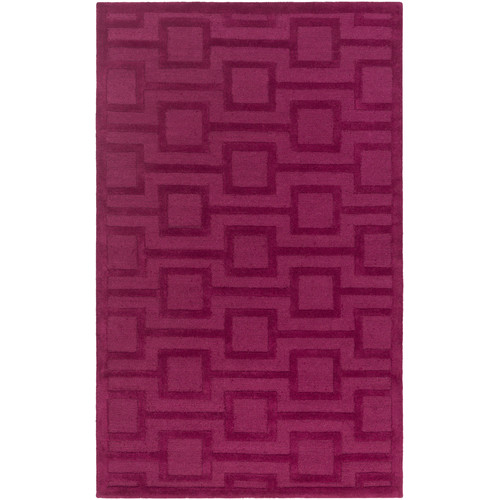 Mercer41 Sarai Hand-Tufted Raspberry Area Rug