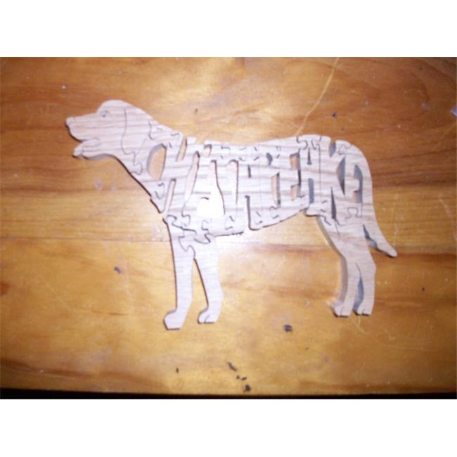 Fine Crafts 207ANI Cheseapeake bay retriever bay wooden jigsaw puzzle